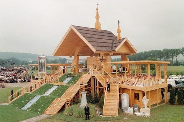 Ołtarz papieski w Starym Sączu/fot. W. Laski /East News