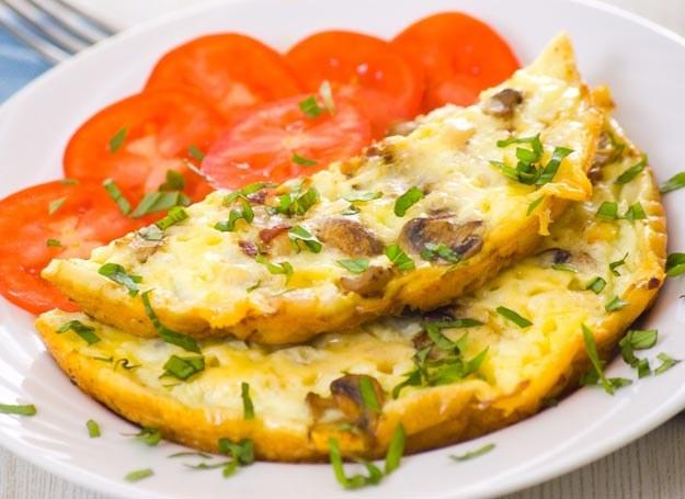 Omlet z pieczarkami /Picsel /123RF/PICSEL
