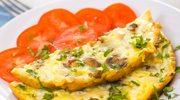 Omlet z pieczarkami