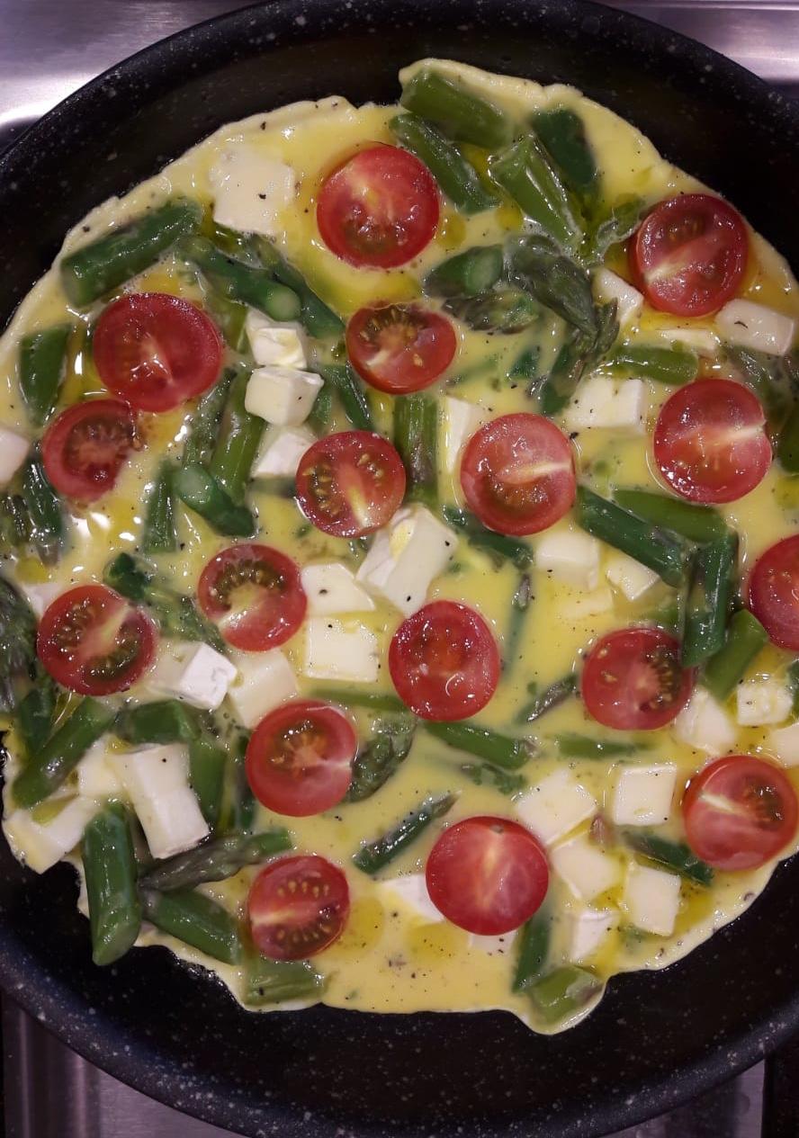 Omlet z warzywami /materiały prasowe /Materiały prasowe