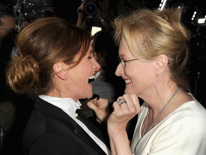 Ona jest fenomenalna. Bardzo oddana filmowi - tak o Meryl Streep mówi Julia Roberts /Getty Images