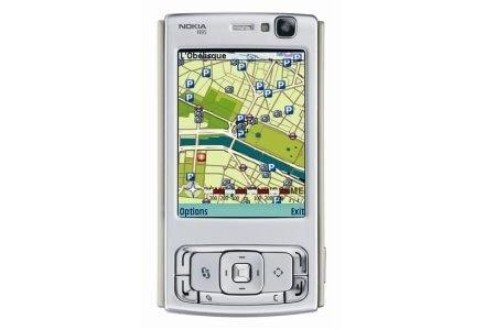 Opcja Maps i GPS - jedna z najważniejszych nowości N95 /materiały prasowe
