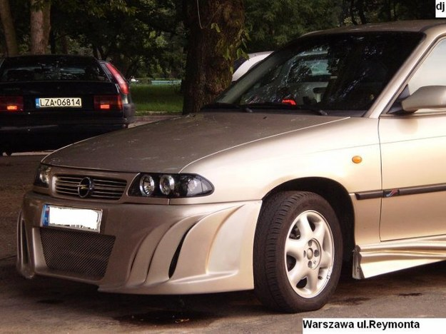 Opel astra classic 1,4 l. tuning.