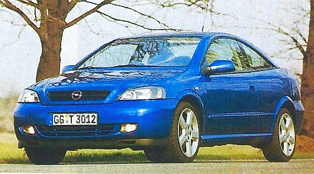 Opel Astra Coupe /Motor