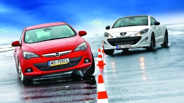 Opel Astra GTC i Peugeot RCZ /Motor