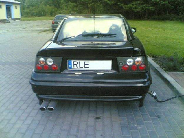 Opel calibra, czyli szpan na gaz