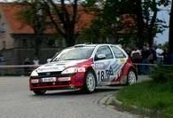 Opel Corsa Adamusa nie wytrzymał trudów rajdu /INTERIA.PL