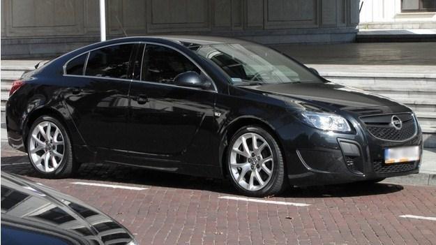 Opel insignia OPC, którą jeździ szef ITD /RMF