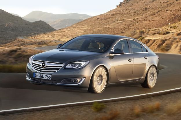 Opel Insignia po liftingu /