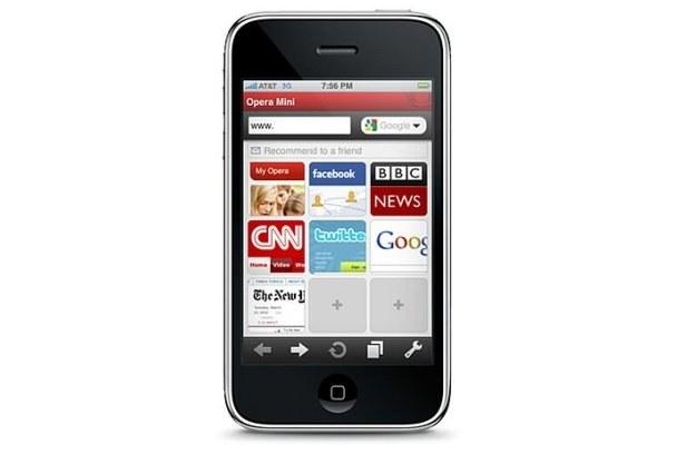 Opera Mini na iPhone /materiały prasowe