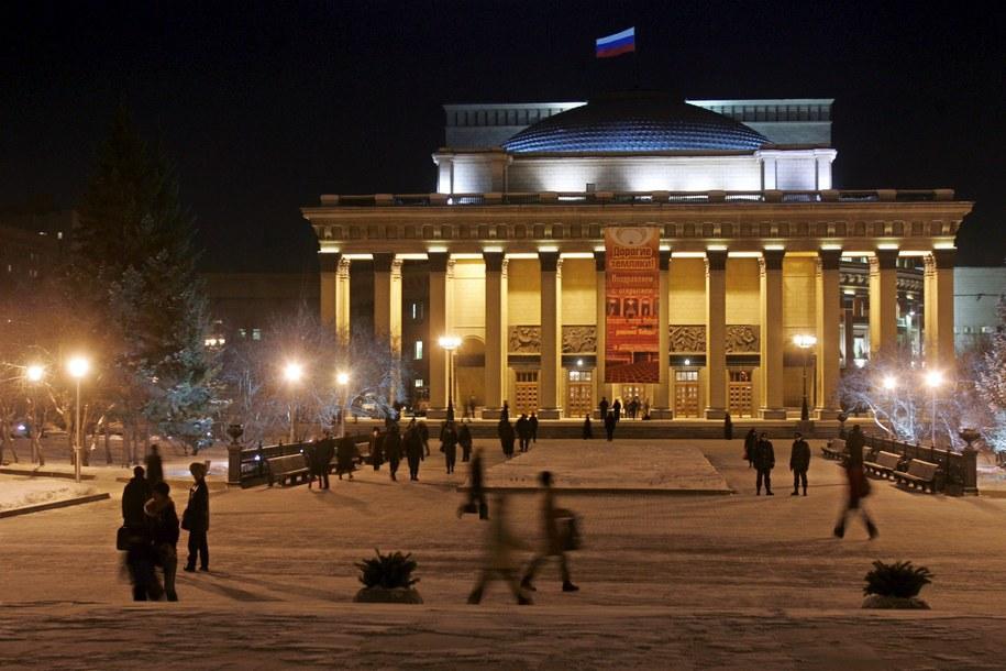 Opera w Nowosybirsku /SERGEI CHIRIKOV /PAP/EPA