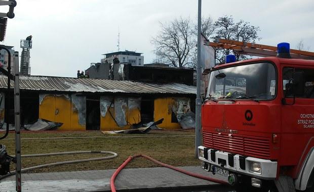 Opole: Spłonęła hurtownia elektronarzędzi