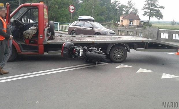 Opolskie: Wypadek w Niemodlinie, 1 osoba ranna
