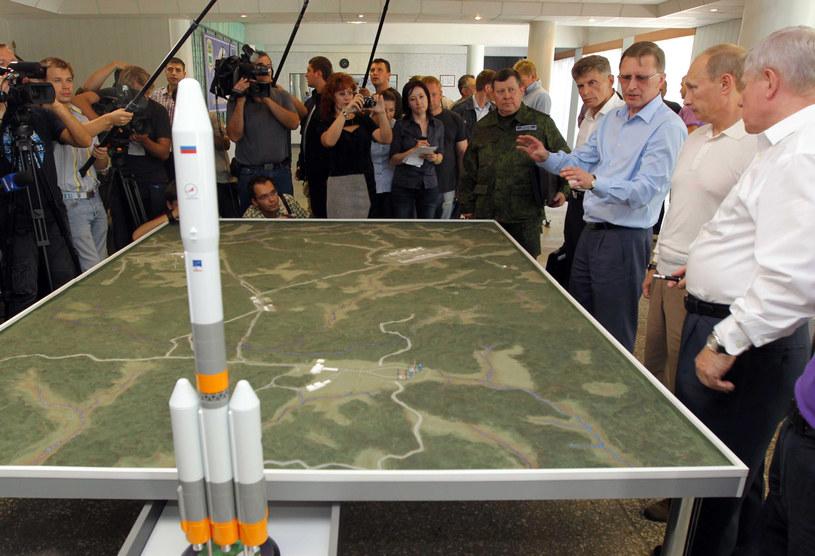 Opóźnienia w budowie kosmodromu Wostocznyj sięgają 2 miesięcy. /AFP