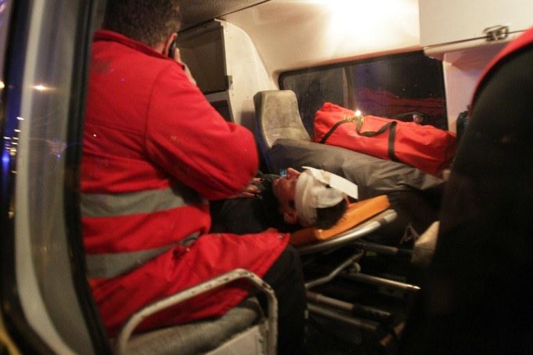 Opozycjonista pobity na Ukrainie /AFP