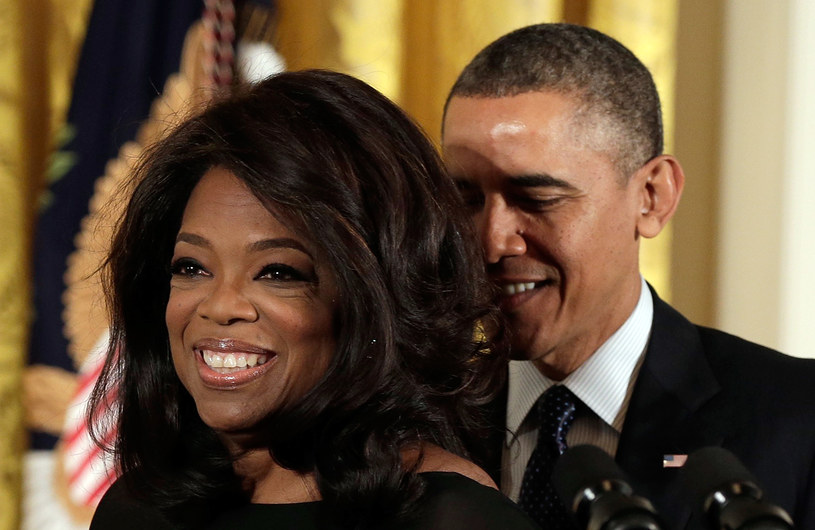 Oprah Winfrey i Barack Obama /Getty Images