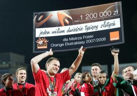 Orange już nie będzie sponsorem ekstraklasy. Fot. Dariusz Hermiesz /Agencja Przegląd Sportowy