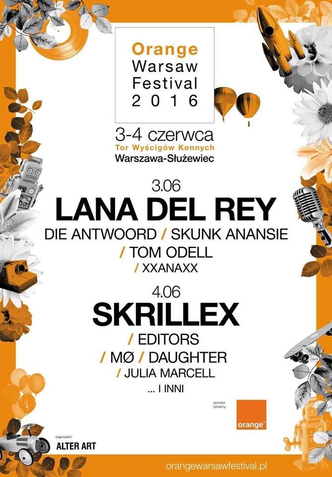 Orange Warsaw Festival 2016 po pierwszych ogłoszeniach /