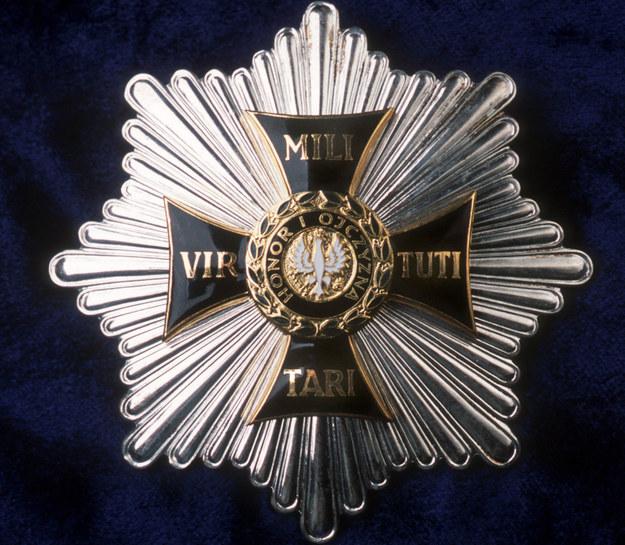 Order Virtuti Militari /Michał Gmitruk /Agencja FORUM