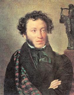 Orest Kiprenski, Portret Aleksandra Puszkina, 1827 r. /Encyklopedia Internautica