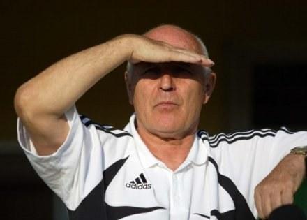 Orest Lenczyk może wypatrywać nowej posady /Agencja Przegląd Sportowy