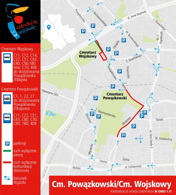 Organizacja ruchu /zdm.waw.pl /