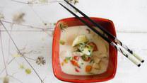 Orientalna zupa z kurczakiem