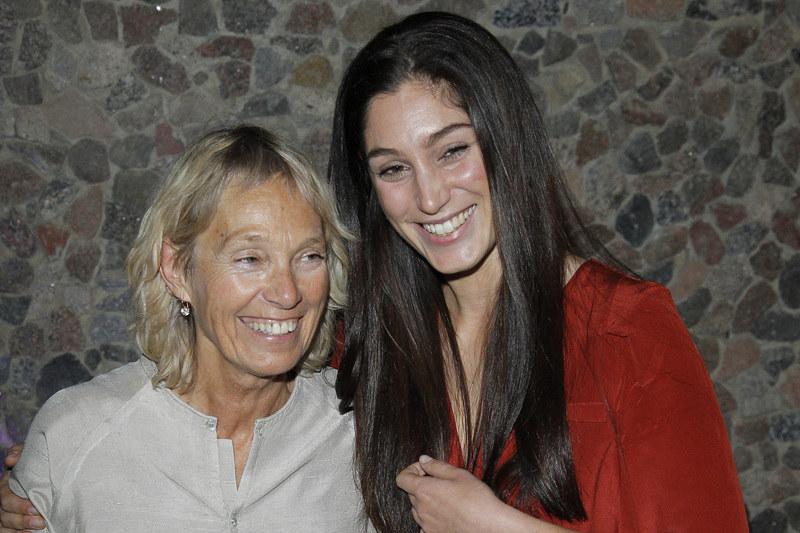 Orina Krajewska z mamą Małgorzatą Braunek /Engelbrecht /AKPA