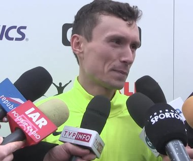Orlen Warsaw Marathon. Artur Kozłowski: Wspaniałe uczucie. Wideo