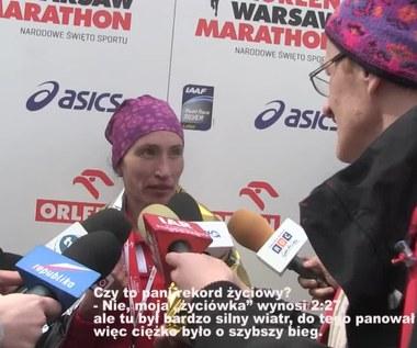 Orlen Warsaw Marathon. Iwanowa: Chcę wystartować na mistrzostwach świata