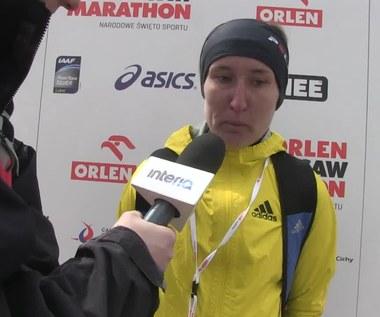 Orlen Warsaw Marathon. Trzaskalska: Pobiegłam to, co chciałam