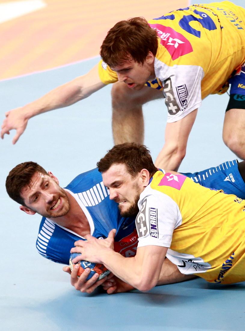 Orlen Wisła Płock – Vive Tauron Kielce 18-23 /Fot. Marcin Bednarski /PAP