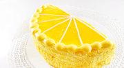 Orzeźwiający tort cytrynowy