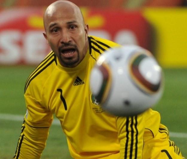 Oscar Perez, bramkarz reprezentacji Meksyku /AFP