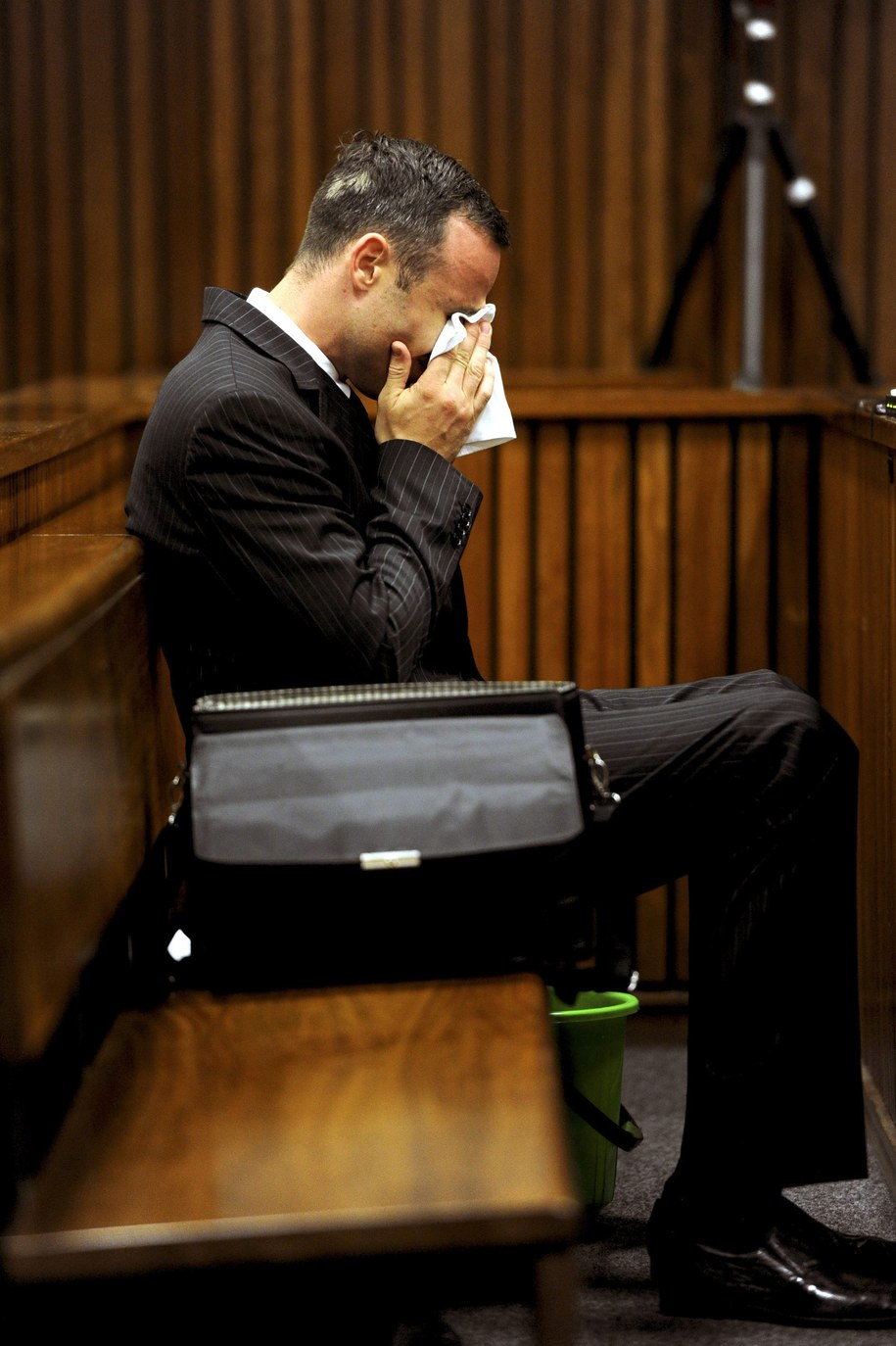 Oscar Pistorius /WERNER BEUKES /PAP/EPA