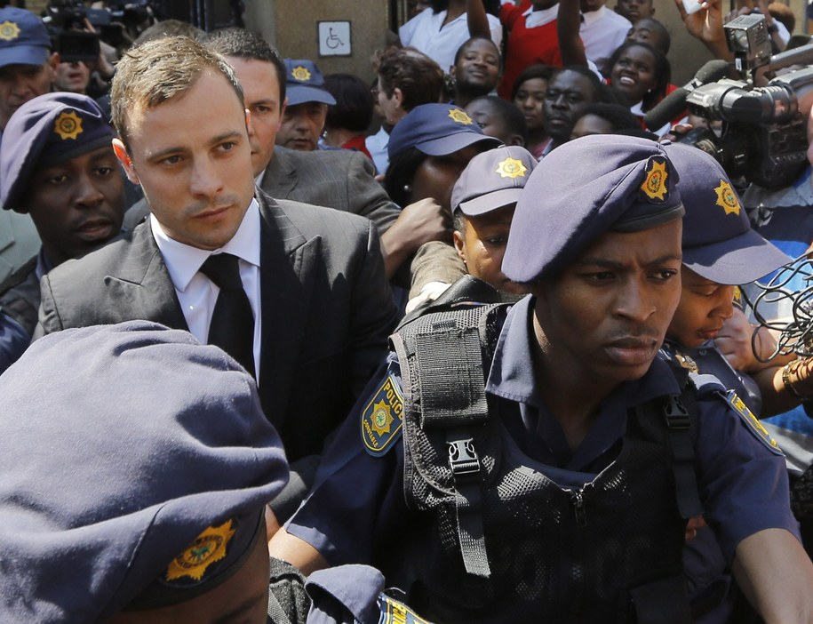 Oscar Pistorius /Kim Ludbrook  /PAP/EPA