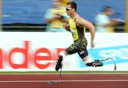 Oscar w swoim żywiole /AFP