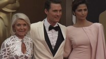 Oscary 2014: Matthew McConaughey z olśniewającą żoną