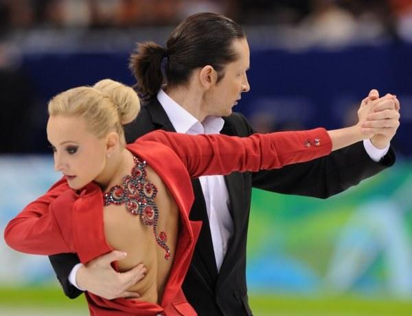Oskana Domina i Maksym Szabalin /AFP