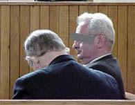 Oskarżeni na sali sądowej, fot. Piotr Bukowski /RMF