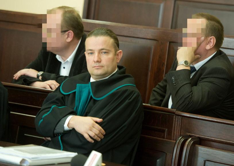Oskarżeni policjanci: Remigiusz M. i Maciej L. /Grzegorz Michałowski /PAP