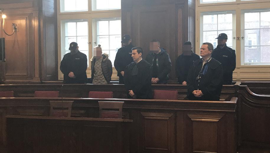 Oskarżeni w sądzie /Kuba Kaługa /RMF FM
