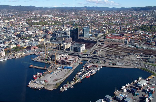 Oslo z lotu ptaka /123/RF PICSEL