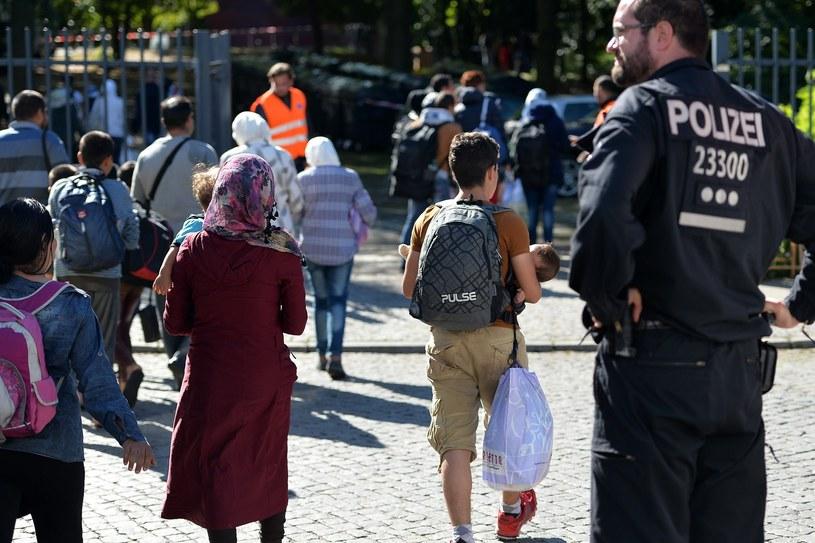 Ośrodek dla uchodźców w Berlinie /Lukasz Szelemej /East News