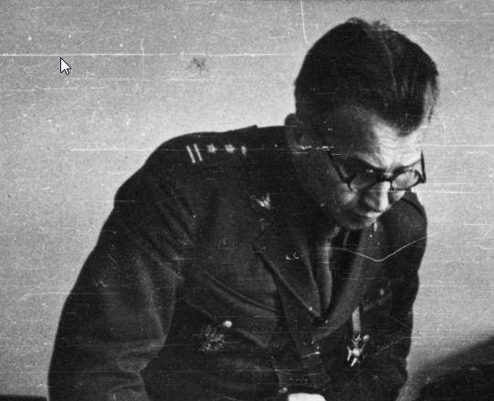 Ostatni dowódca AK Leopold Okulicki ps. Niedźwiadek doprowadził do wybuchu powstania warszawskiego /Z archiwum Narodowego Archiwum Cyfrowego