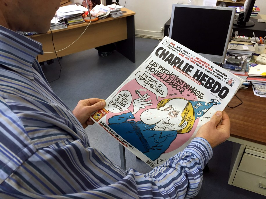 "Ostatni numer ""Charlie Hebdo"" //STAFF /PAP/EPA"