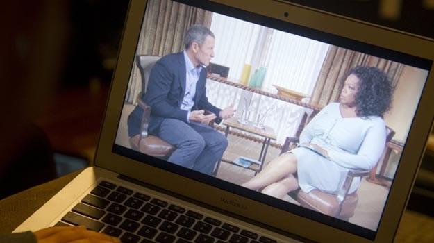 """Ostatnią z gwiazd, która """"wyspowiadała się"""" u Oprah Winfrey, jest Lance Armstrong. /AFP"""