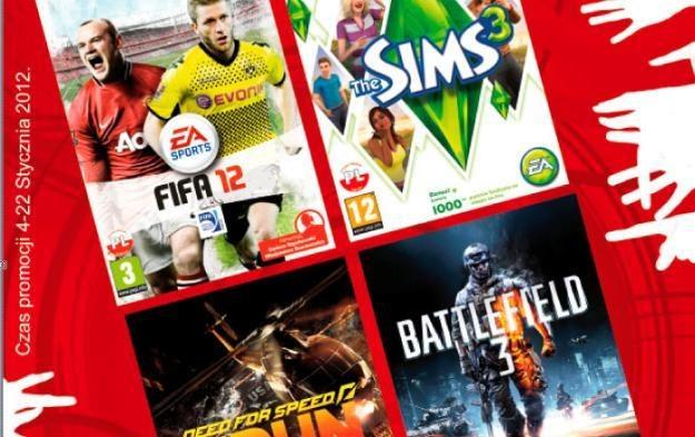 Ostatnie hity Electronic Arts można kupić w promocyjnej cenie /Informacja prasowa
