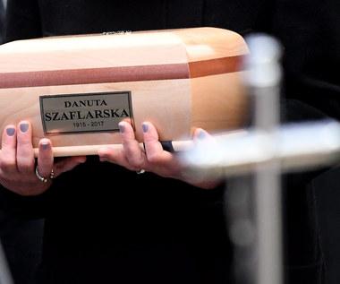 Ostatnie pożegnanie Danuty Szaflarskiej