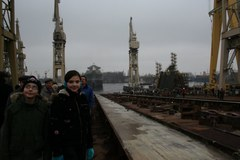 Ostatnie wodowanie w Stoczni Szczecińskiej Nowa